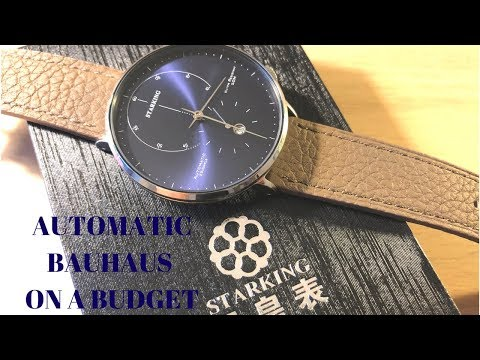 Bauhaus Automatic At A Steal - Starking Watch REVIEW