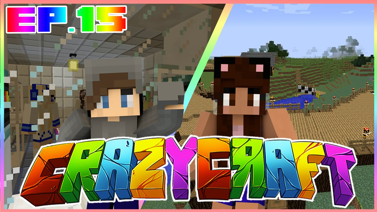 Obstacle course w yammy minecraft crazy craft 3 0 ep for Crazy craft 3 0 server
