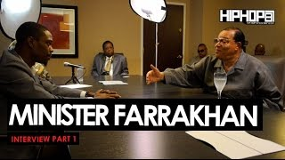 Minister Louis Farrakhan Talks Issues That Directly Effect The Black Community & More (Part 1 Of 3)