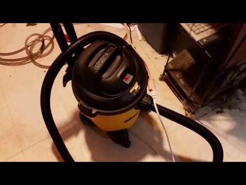 This is Why I Bought A Shop-Vac: A Wise Investment For Fishkeepers