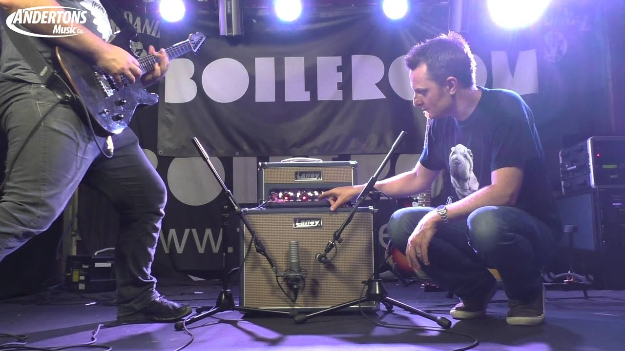Laney Lionheart L5 Studio 5w Head & Cab Demo - YouTube