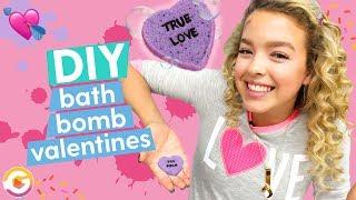 DIY Valentine's Day Sweetheart Bath Bomb | GoldieBlox