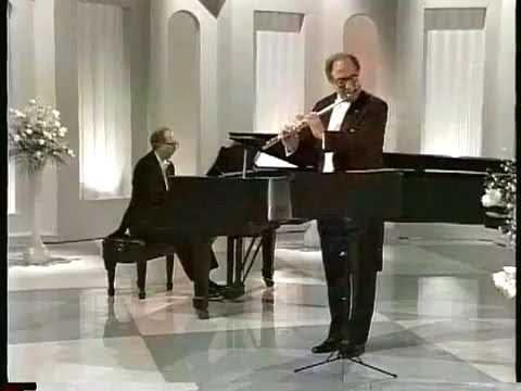 "Jean Pierre RAMPAL plays ""Cantabile et Presto"" by Enescu | 1995"