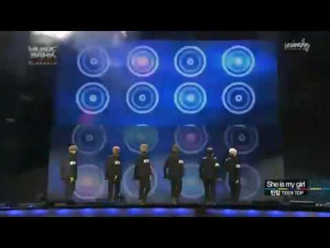 Teen Top - She Is My Girl (Cover S4) Music Bank Jakarta