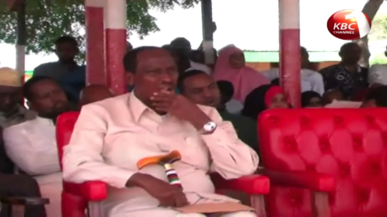 Government undertaking water projects in Wajir County
