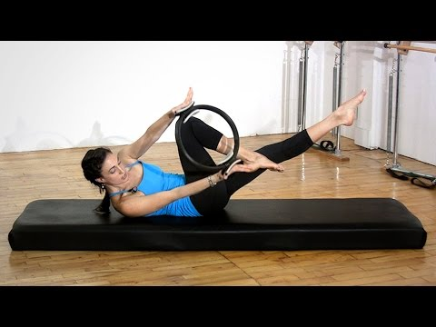 Say Hello To Your Abs Pilates Magic Circle Workout!