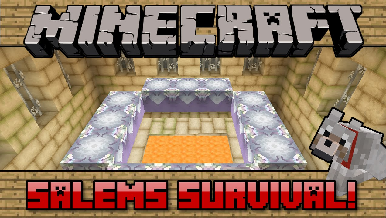 Squishy survival 9 - 115 Salems Survival Minecraft Pc