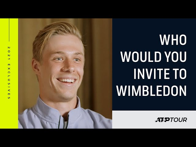 Tennis Stars Answer The Toughest Grass-Court Questions