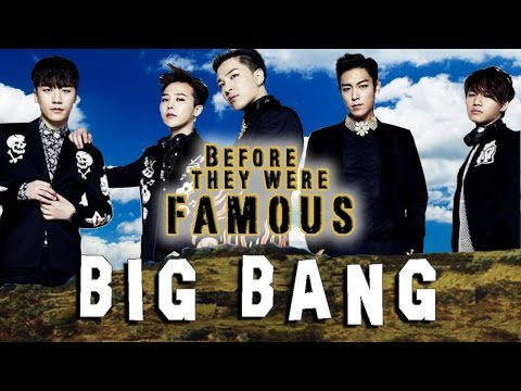 BIG BANG - Before They Were Famous