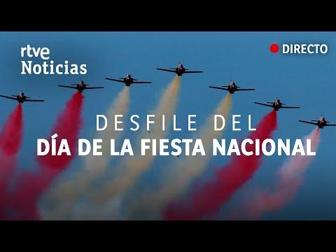 Desfile militar del DÍA DE LA FIESTA NACIONAL #12Octubre | RTVE