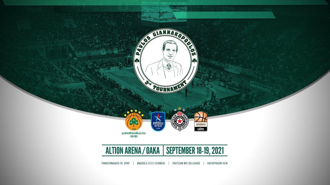 Download 3rd Pavlos Giannakopoulos Tournament - Συνέντευξη Τύπου