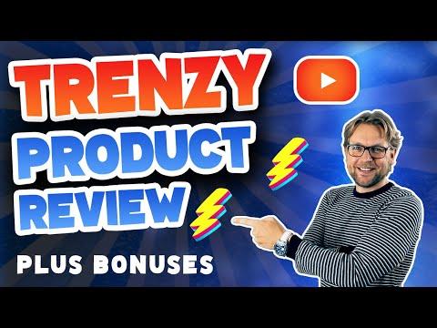 Trenzy Review & Bonuses . http://bit.ly/2LdAI07