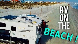 RV ON FLORIDA'S BEACH !