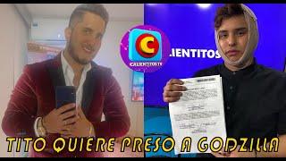 PRESENTADOR DE CALIENTITOS METERÁ PR3S0 A GODZILLA