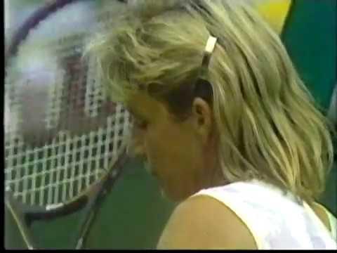 Chris Evert vs Akiko Kijimuta - Wimbledon 1988