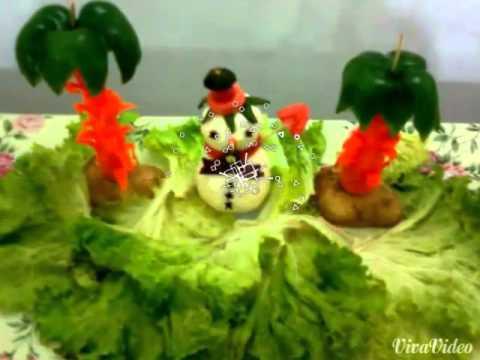 Salad Decoration Home YouTube