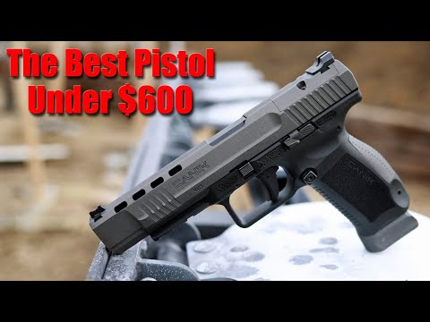 Canik TP9SFX 1000 Round Review: The Most Accurate Pistol For The Money