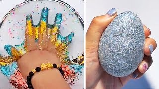 Satisfying Slime Compilation ASMR | Relaxing Slime Videos #296