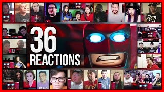 THE LEGO BATMAN MOVIE Comic-Con Trailer Reactions Mashup