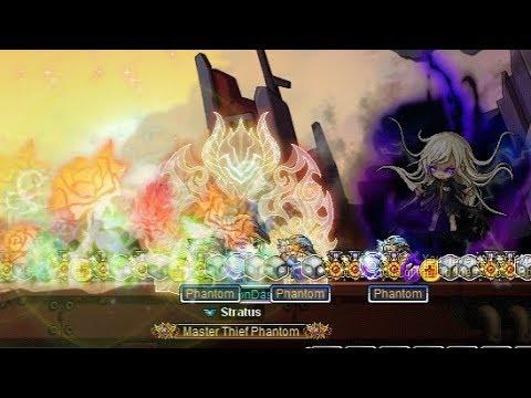 MapleStory Phantom End Game Speedrun Bossing!