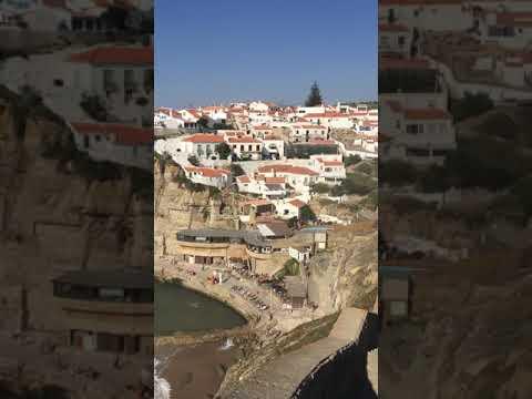 Azenhas do Mar - litoral rochoso de Sintra