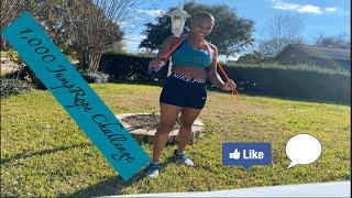 I Did 1000 Jump Ropes a Day for a Month *My Results* #2021fitnessgoals