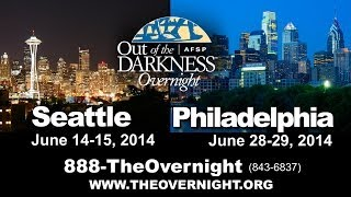 2014 AFSP OVERNIGHT WALK Inspirational Video