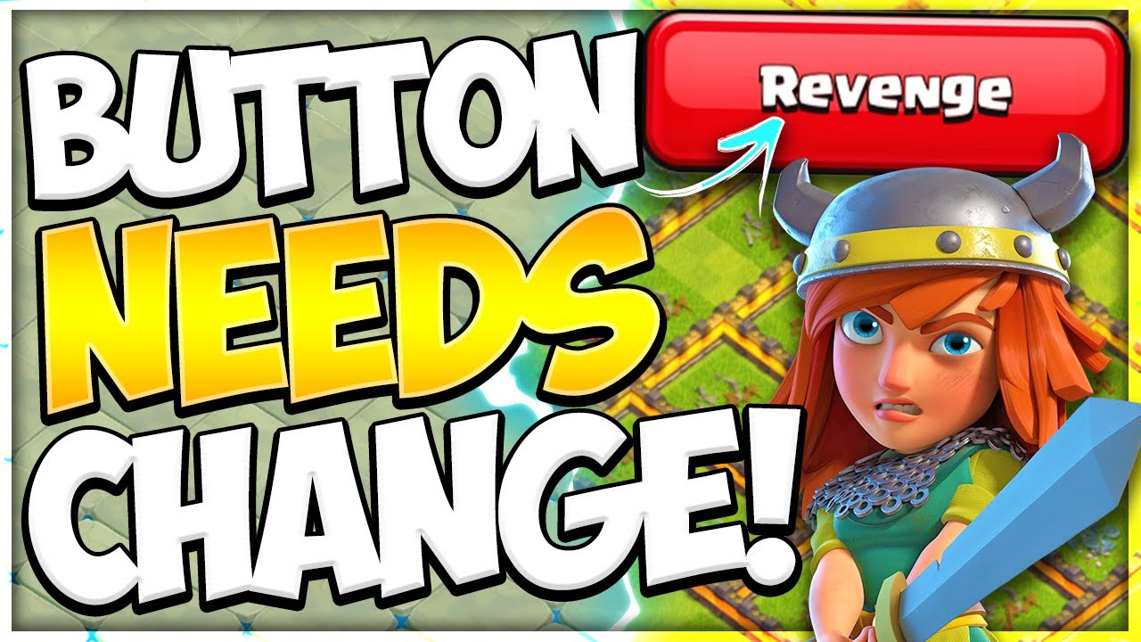 How Would You Fix Revenge Button?! Rushed Base Finally Defended CWL in Clash of Clans