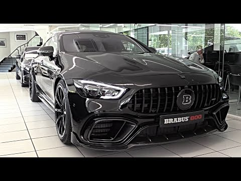 2019/2020 BRABUS 800 Mercedes AMG GT 4 Door Coupe | FULL REVIEW Interior Exterior Infotainment