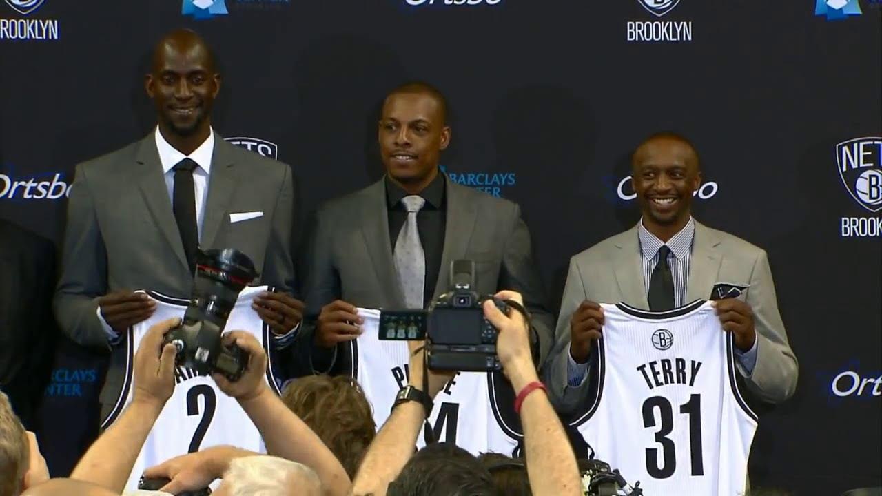 Kevin Garnett Paul Pierce Nets Debut Highlights At Washington Wizards 20131008 NBA PRESEASON