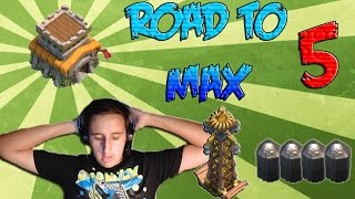 Tutto al massimo! - Clash of Clans: Road to Max ITA TH8 Ep.5