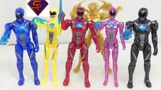 Power Rangers 2017 Movie Ranger Team With Goldar Target Exclusive 6 Pack Figure Review