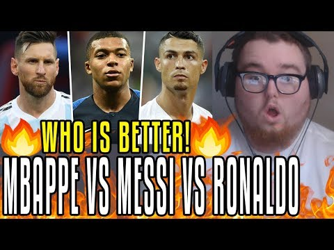 Mbappé Is Good But... Messi & Ronaldo Were Monsters At 19! REACTION!!!