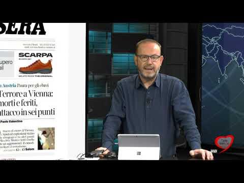 I giornali in edicola - la rassegna stampa 03/11/2020
