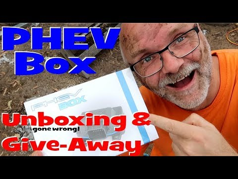 EP67 - Outlander PHEV Box Unboxing and Free Giveaway by EVolution Australia!