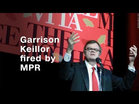Garrison Keillor fired by Minnesota Public Radio