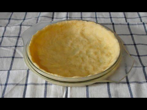 Тесто для открытого пирога (киша)