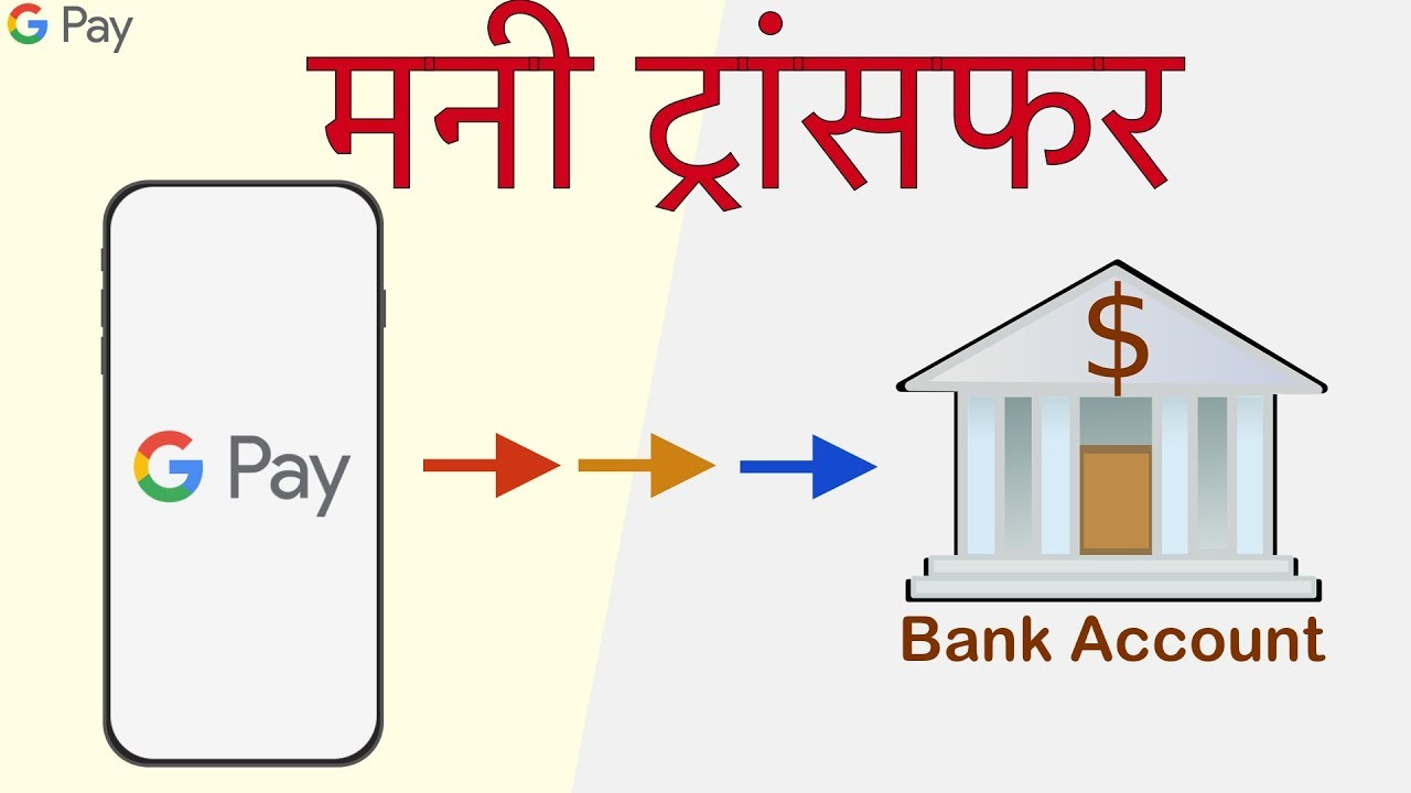 Google Pay To Bank Money Transfer