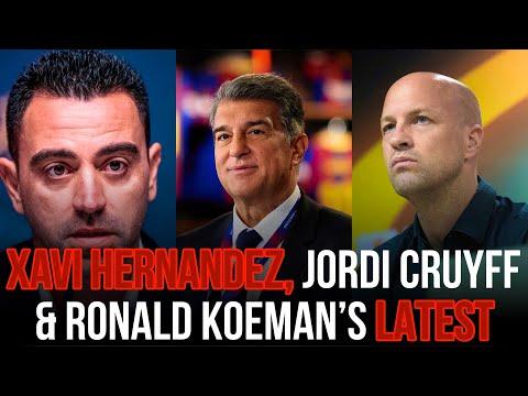 ‼️🚨 Joan Laporta Is Set To Look For Koeman's REPLACEMENT FT Xavi Hernandez & Jordi Cruyff // Part 2