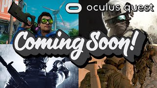 Finally! Realistic First Person Shooters For Oculus Quest Coming Soon!!