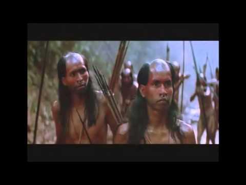 Colón se encuentra con los Taínos en Guanahani.