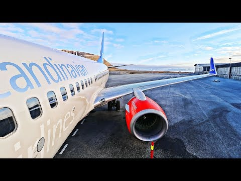 Flying to The World's Northernmost Airport with SAS - Longye