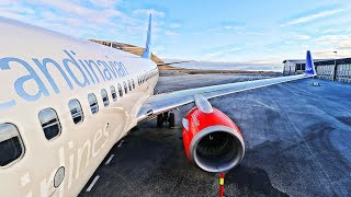 Flying to The World's Northernmost Airport with SAS - Longyearbyen, Svalbard!