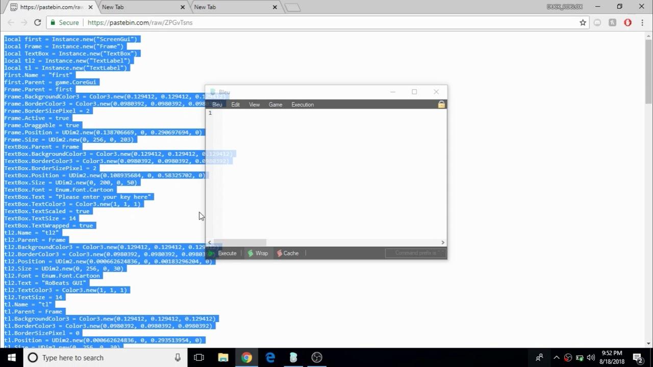 Admin Script Roblox Pastebin | StrucidCodes.com