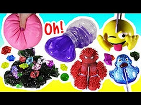 Squishy And Slime Mystery Box : Cutting OPEN Squishy POOP Spiderman! Mystery SLIME Homemade Stress Ball! Ooze! Sticky Spider ...