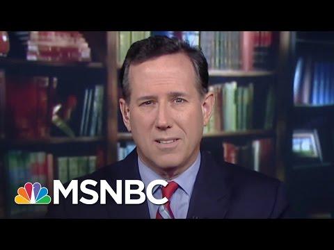 Rick Santorum Says Most Muslims Not Doing Enough | Morning Joe | MSNBC