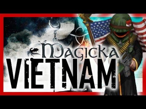 Magicka Co-Op [Magicka DLC] - Magicka Vietnam - It Ain't Me, It Ain't Me, I Ain't No Fortunate One