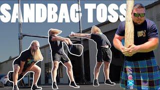 How to toss a Sandbag like a HIGHLAND GAMES PRO | Kyle Lillie & Untamed Strength
