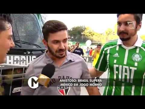 Mesa Redonda - Amistoso: Brasil X México (07/06/15)
