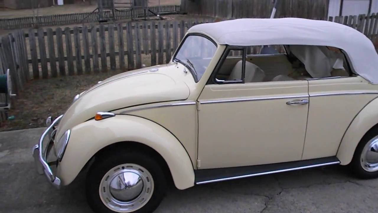 1964 Vw Beetle Convertible For